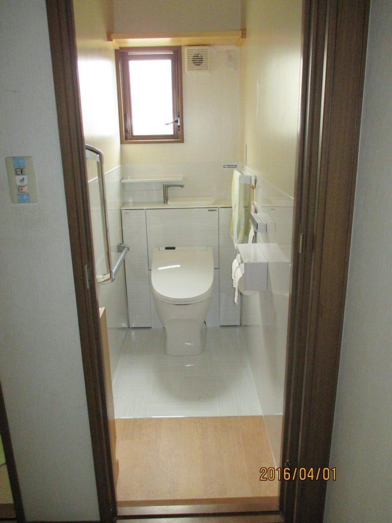 トイレ-後