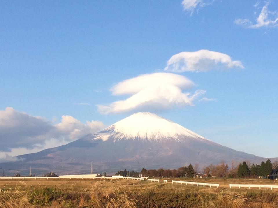 20161209の富士山