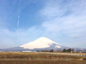 富士山170329