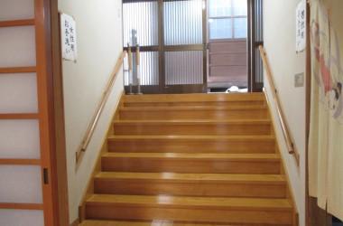 階段手摺(施工前)