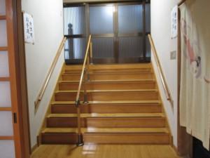 階段手摺(施工後)