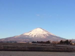 富士山171229
