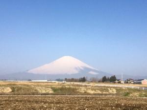 富士山180329