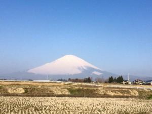 富士山180328