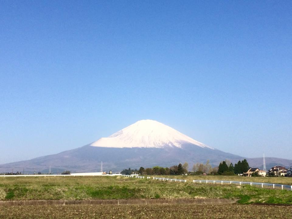 富士山180420
