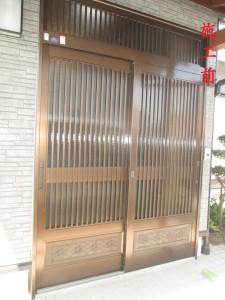 施工前(玄関)
