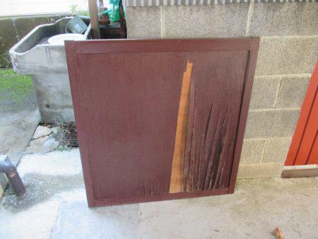 木製雨戸(施工前)