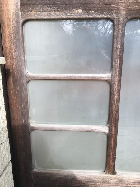 ガラス修繕(施工後)